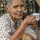 Lady in Tigyaung by Werner Padarin
