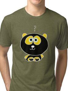 the black panda Tri-blend T-Shirt