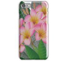 flowers pink iPhone Case/Skin