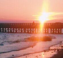 Duxbury Beach Powder Point Bridge Sticker