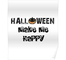 Halloween' day tshirt funny Poster