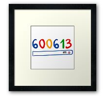 600613 search engine Framed Print