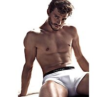 Jamie Dornan Shirtless Photographic Print