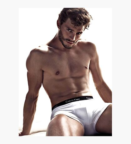 Jamie Dornan Shirtless Photographic Print