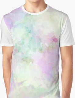 Dreamy Watercolor Texture Graphic T-Shirt