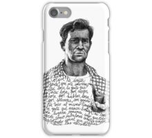 Kerouac iPhone Case/Skin