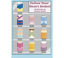 Follow Your Heart - Disney Princess Soda Cans Photographic Print