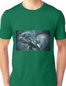 Emerging Blue-eyes White Dragon Unisex T-Shirt