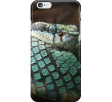 Green Pit Viper iPhone Case/Skin