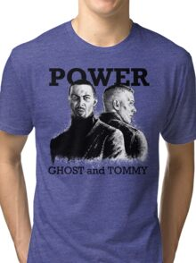 Ghost and Tommy Power TV Tri-blend T-Shirt