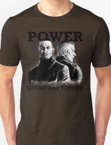 Ghost and Tommy Power TV Unisex T-Shirt
