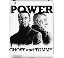 Ghost and Tommy Power TV iPad Case/Skin