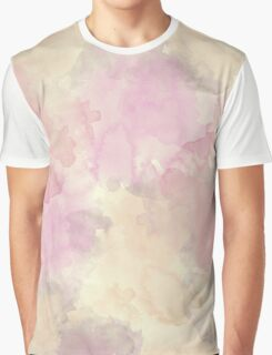 Creamy Watercolor Texture Graphic T-Shirt
