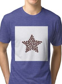 Coffee beans star Tri-blend T-Shirt