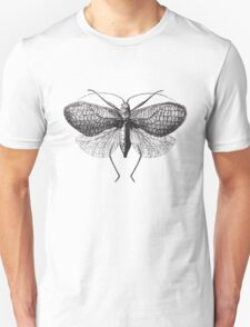 Antique Moth illustration Unisex T-Shirt