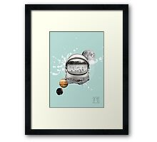 Planet Pool Framed Print