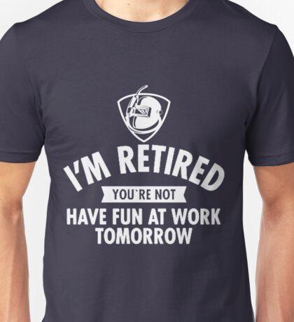 Welder Retired Unisex T-Shirt