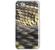 Eastern Diamondback Rattlesnake Scales iPhone Case/Skin