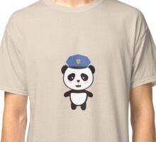 Panda Police Officer Classic T-Shirt