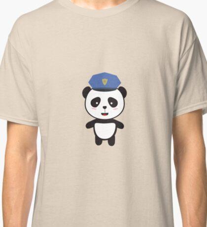 Panda Police Officer Classic T-Shirt