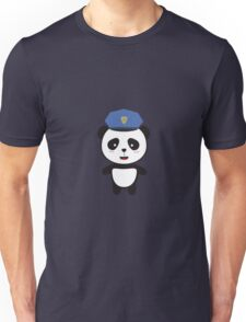 Panda Police Officer Unisex T-Shirt