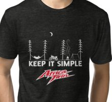 Africa Twin KISS Tri-blend T-Shirt