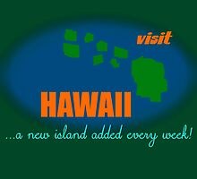 Visit Hawaii by Uncle McPaint