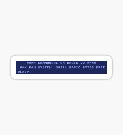 C64 Sticker