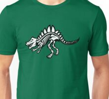 Dinosaur Skeleton Art Unisex T-Shirt