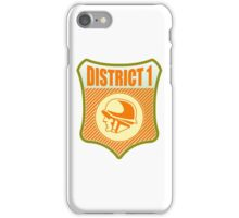 District 1 Badge iPhone Case/Skin