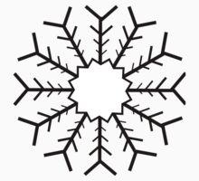 Snowflake no 1 One Piece - Short Sleeve