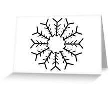 Snowflake no 1 Greeting Card