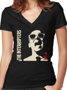 The Interrupter Say It Out Loud Women's Fitted V-Neck T-Shirt