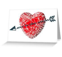 Love concept Greeting Card