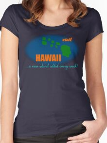 Visit Hawaii Women's Fitted Scoop T-Shirt