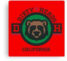 California Dirty Heads Canvas Print