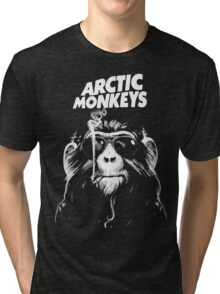 Artic Monkeys -  Smoking Monkey Tri-blend T-Shirt