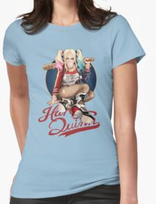harley quinn Womens Fitted T-Shirt