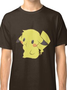 Pikachu - Thinking Classic T-Shirt