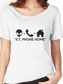 """E.T. PHONE HOME"" Women's Relaxed Fit T-Shirt"