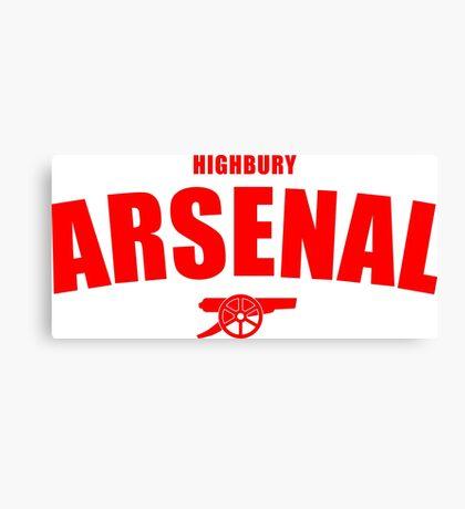 Arsenal Canvas Print