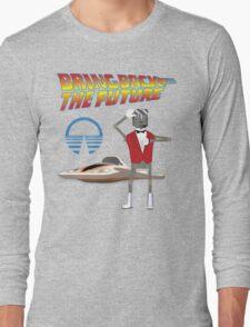 Bring Back the Future Horizons Robot Butler Long Sleeve T-Shirt