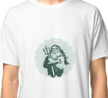 Triton Arms Crossed Trident Rosette Classic T-Shirt