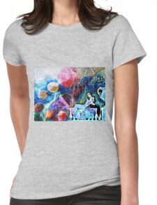 SWEPT AWAY BY FORBIDDEN LOVE Womens Fitted T-Shirt