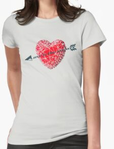 Love concept Womens Fitted T-Shirt