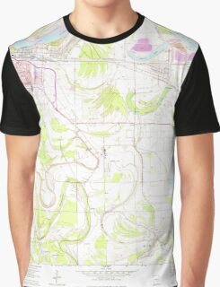 USGS TOPO Map Arkansas AR Ladd 258881 1964 24000 Graphic T-Shirt