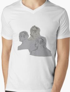 The dead can't hear you Mens V-Neck T-Shirt