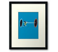 Portal Tracer Framed Print