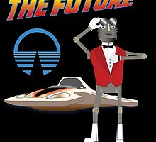 Bring Back the Future Horizons Robot Butler by e82designs
