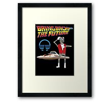 Bring Back the Future Horizons Robot Butler Framed Print